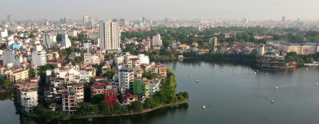 Hanoi City in Vietnam