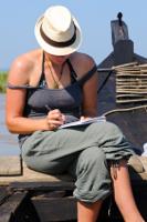 A writer on retreat