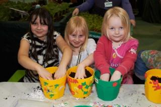 Kids at the Edible Garden Show