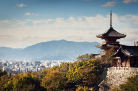 City of Kyoto, Japan