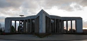 The Mardasson Memorial - Pentagram design by Georges Dedoyard
