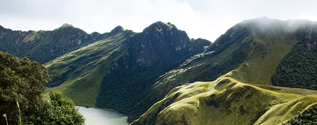 Mojanda Lakes, Equador