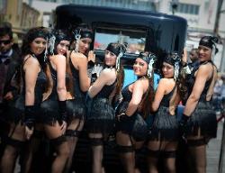 Prohibition era showgirls