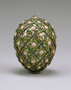The Rose Trelis Fabergé Egg