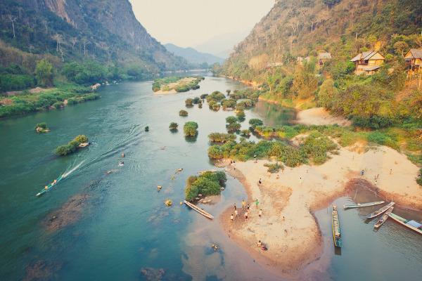 Laos by Tanveer Badal