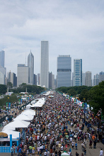 Taste of Chicago outdoor food festival