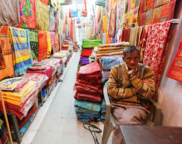 Indian textiles market