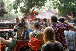 Songkran Waterfights