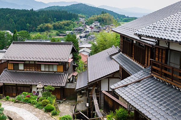 Traditional Japanese Village