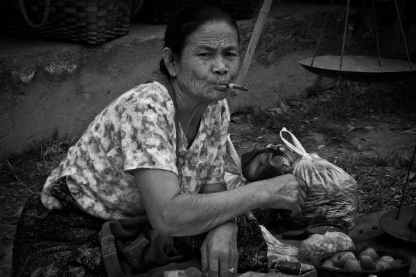 Woman in Burma