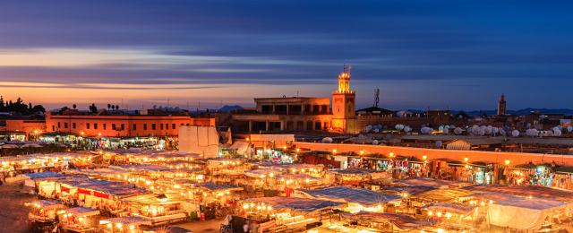 24 Hours In Marrakech