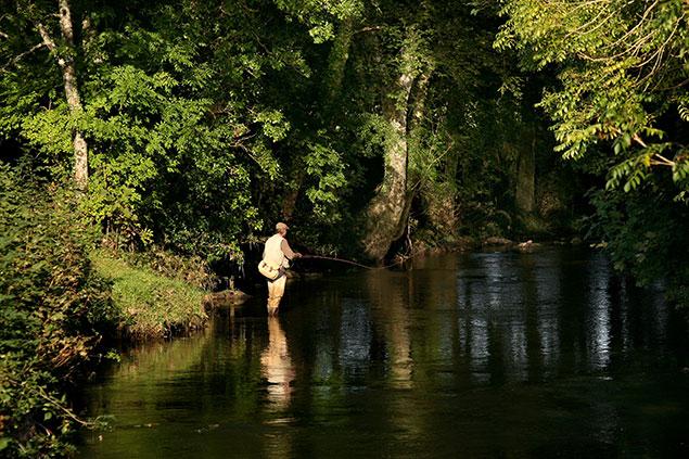 Fishing on the Thrushell
