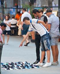 Tourists Bargaining