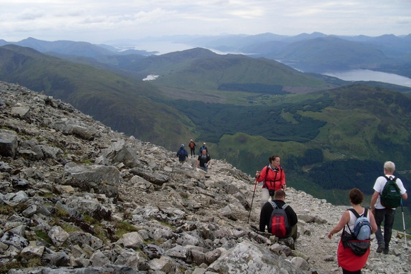 Ben Nevis via Carn Mor Dearg, Scottish Highlands