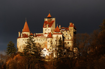 Bran Castle In Autumn