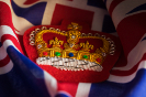 British Flag and Crown