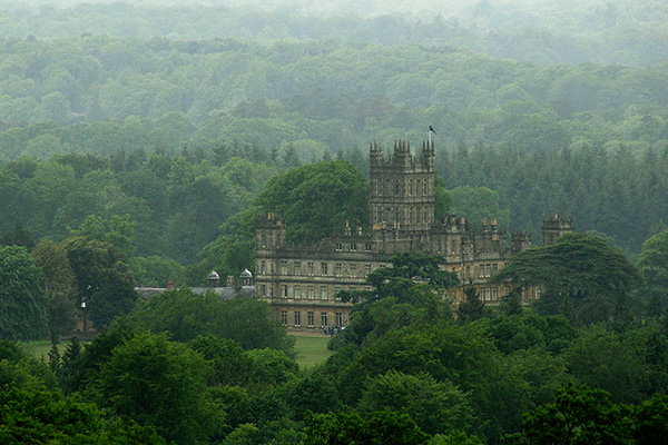 Highclere Castle from front