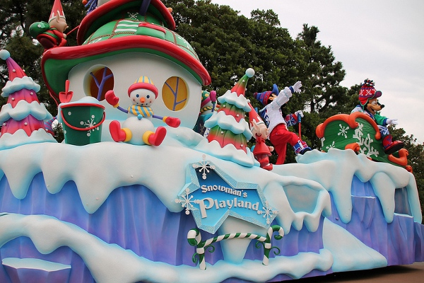 Christmas Fantasy Disneyland