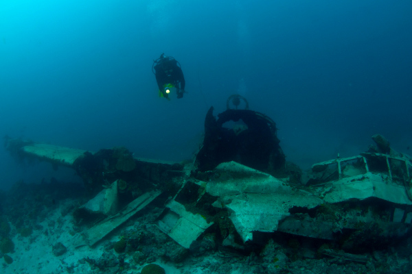 Chuuk Lagoon wreck