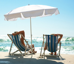 Comfy Deck Chairs