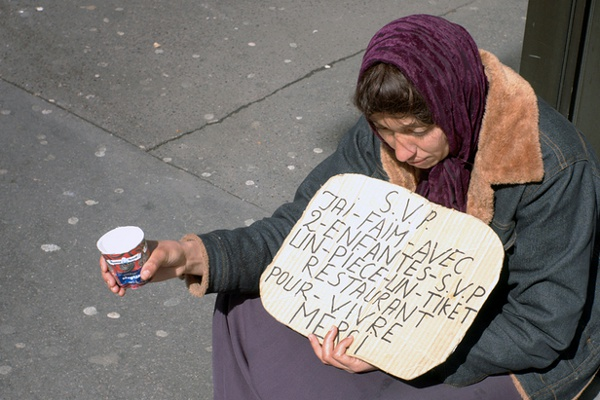 Paris Beggar, France