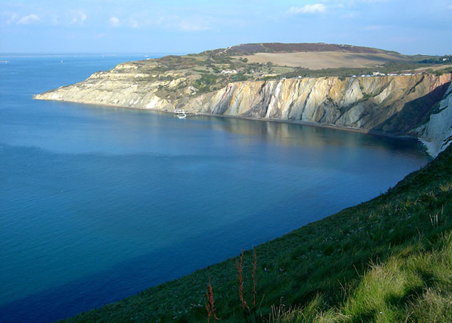 Cliffs at the Isle of Wight