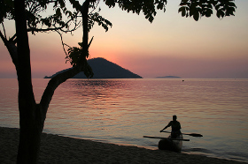 Beach at Lake Malawi