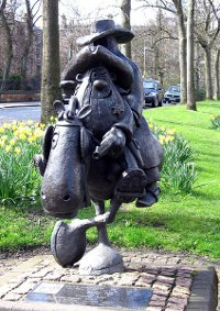 Statue of Lobey Dosser