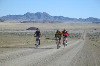 Touring Namibia