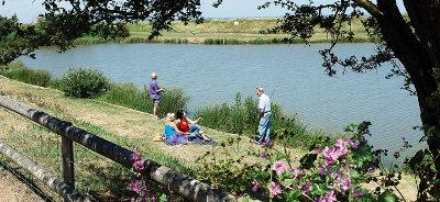 Allhallows Fishing Lake