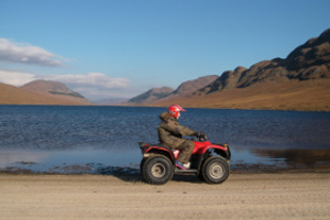 Quad Biking In The Highlands