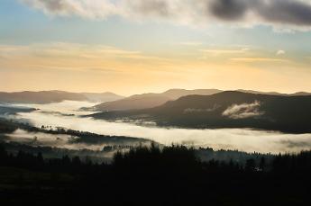 Tummel Valley, Scotland