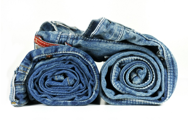 Roll clothes to save space