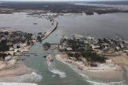Sandy destruction, New Jersey