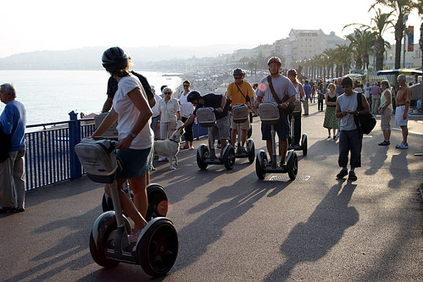 Cruise around on a Segway