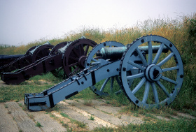Cannons from the Siege of Yorktown
