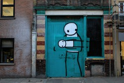 The Art Thief by Stik