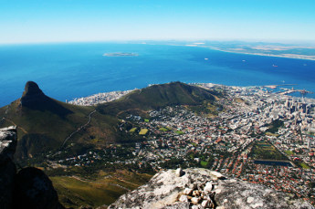 Table Mountain And The Cold Atlantic
