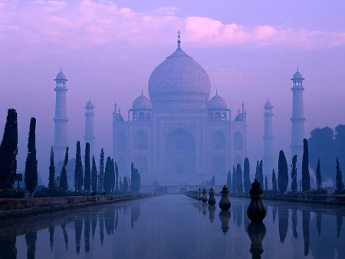 The Taj Mahal View