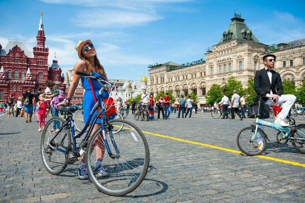 Travel On Bicycle