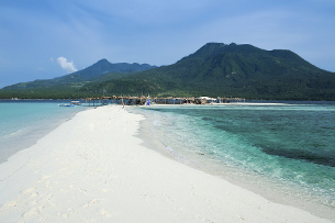 Beach at Camiguin, Phillipines