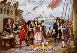 William Captain Kidd Painting