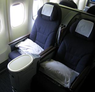 Aeroplane Seat And View