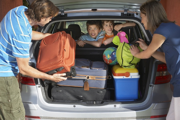 Consider the luggage needs of everyone using the rental car