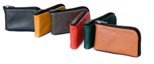 Different Colour Wallets